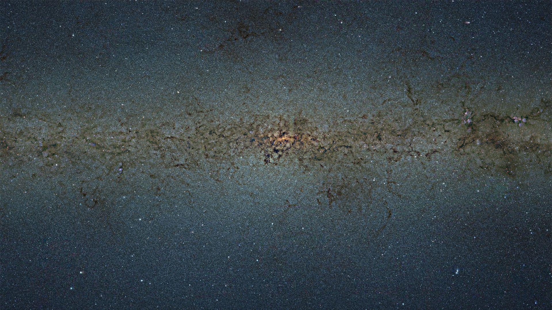 仰望星空,88亿像素银河系照片