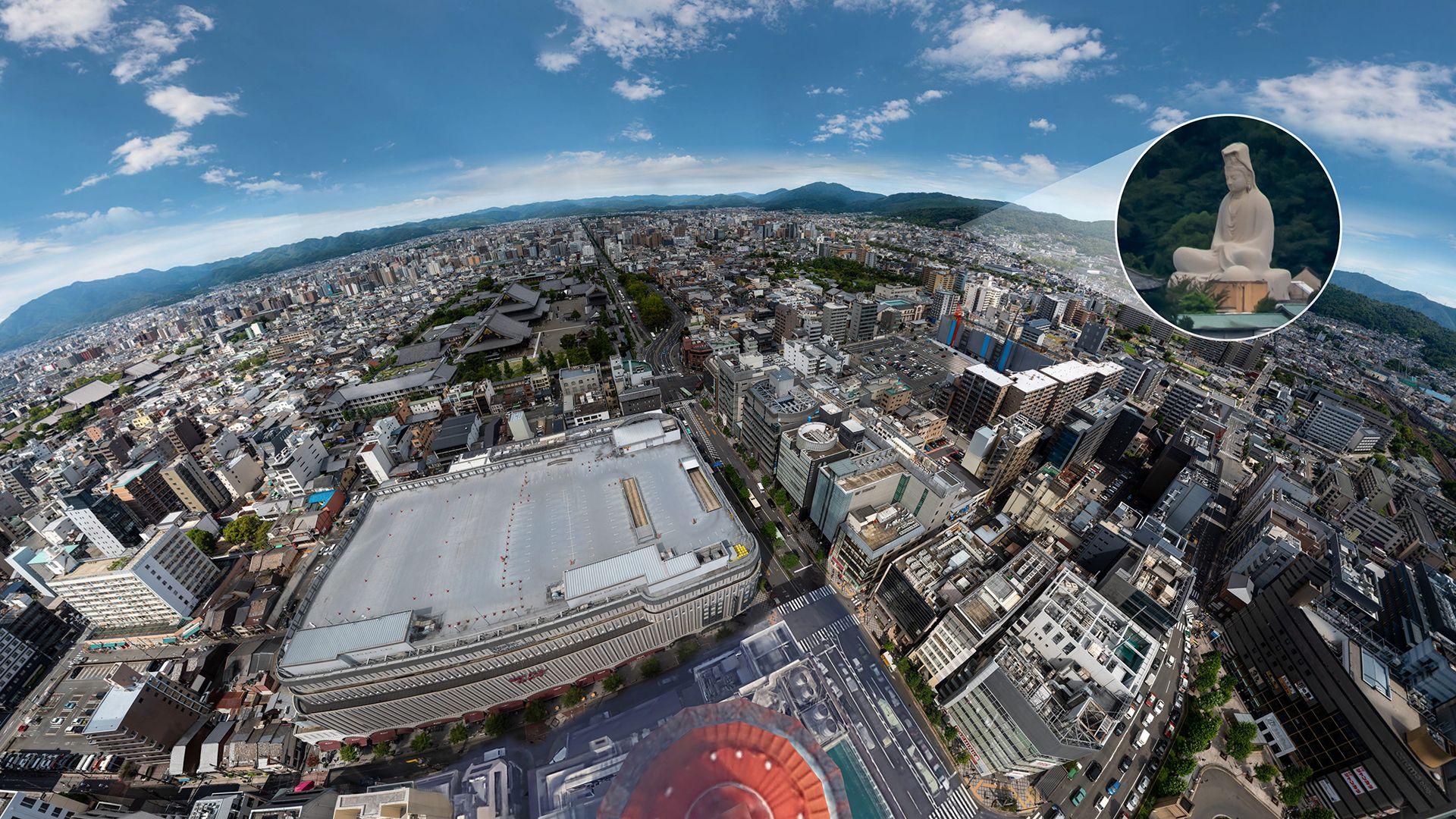 日本京都800亿像素全景